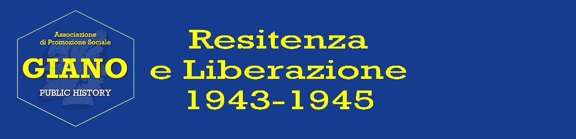 RESISTENZA e LIBERAZIONE 1943-1945 - immagine di copertina