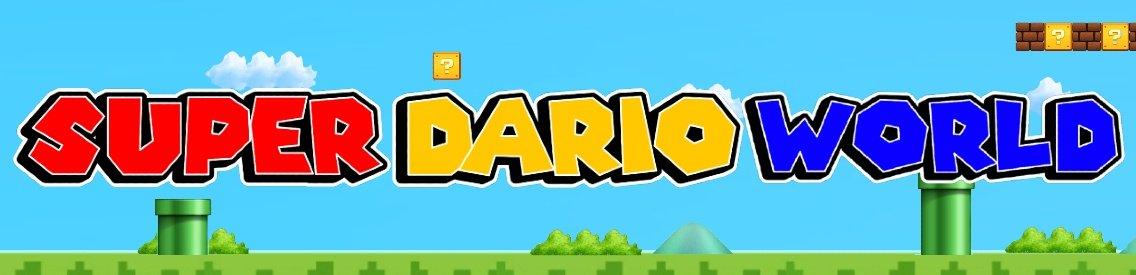 Super Dario World Podcast - Cover Image
