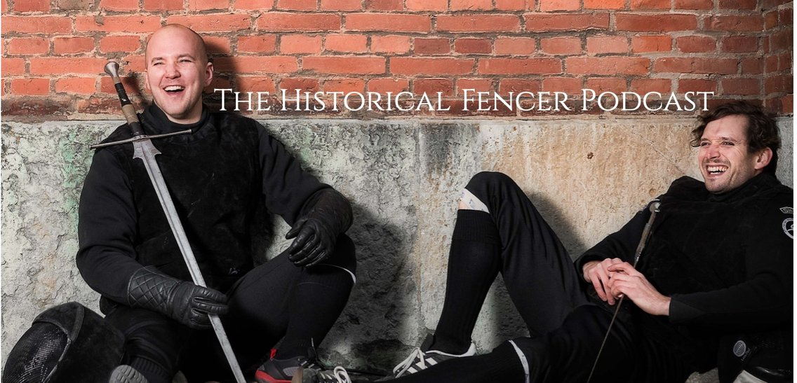 The Historical Fencer Podcast - Cover Image