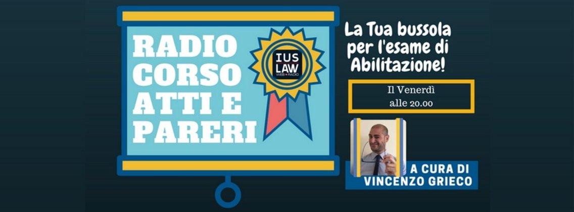 Canale Radio Corso Atti e Pareri - immagine di copertina