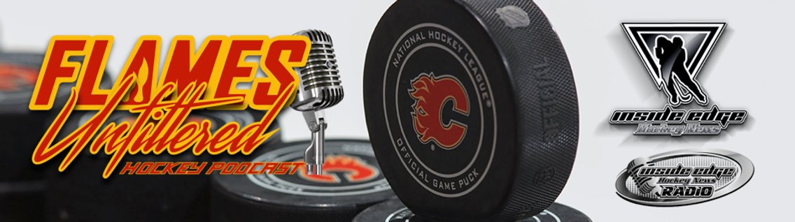 Flames Unfiltered Hockey Podcast - Cover Image