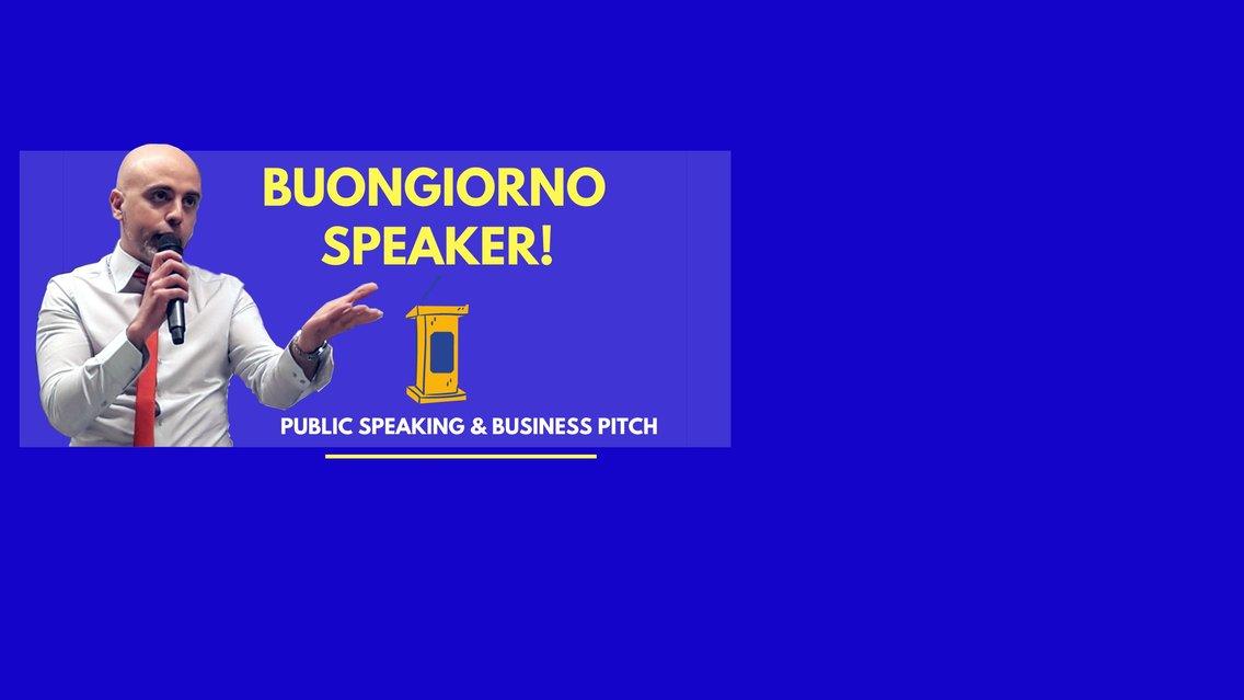 Buongiorno Speaker! - Cover Image
