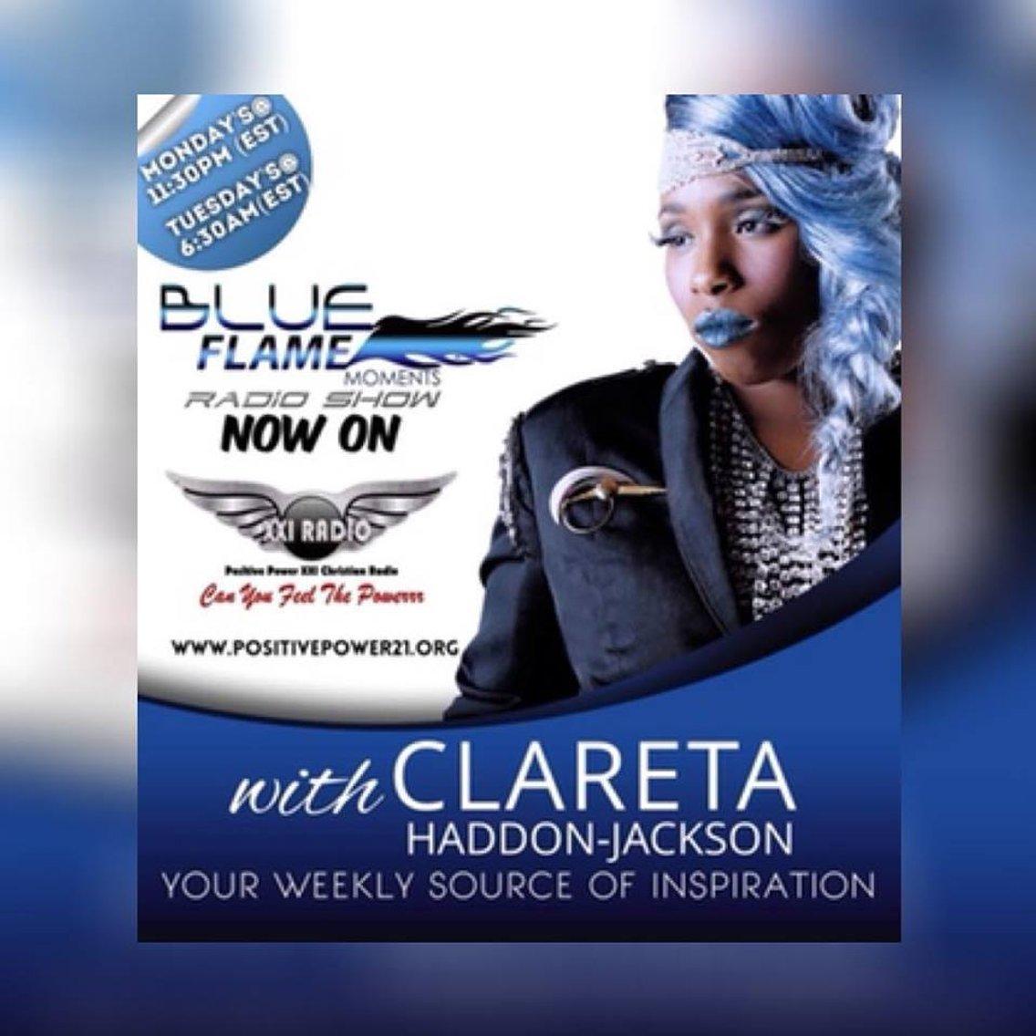 Blue Flame Moments with Clareta - immagine di copertina
