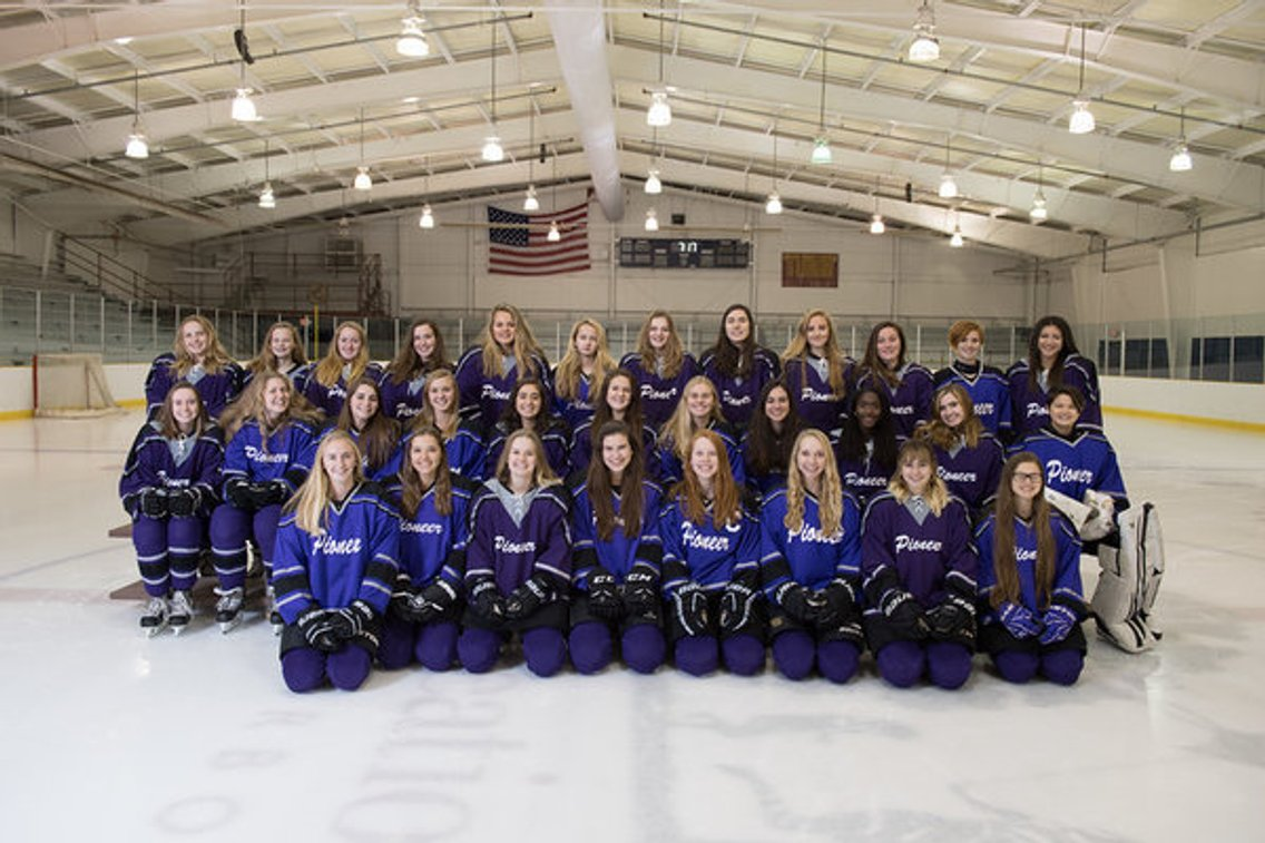 Pioneer High School Women's Ice Hockey - Cover Image
