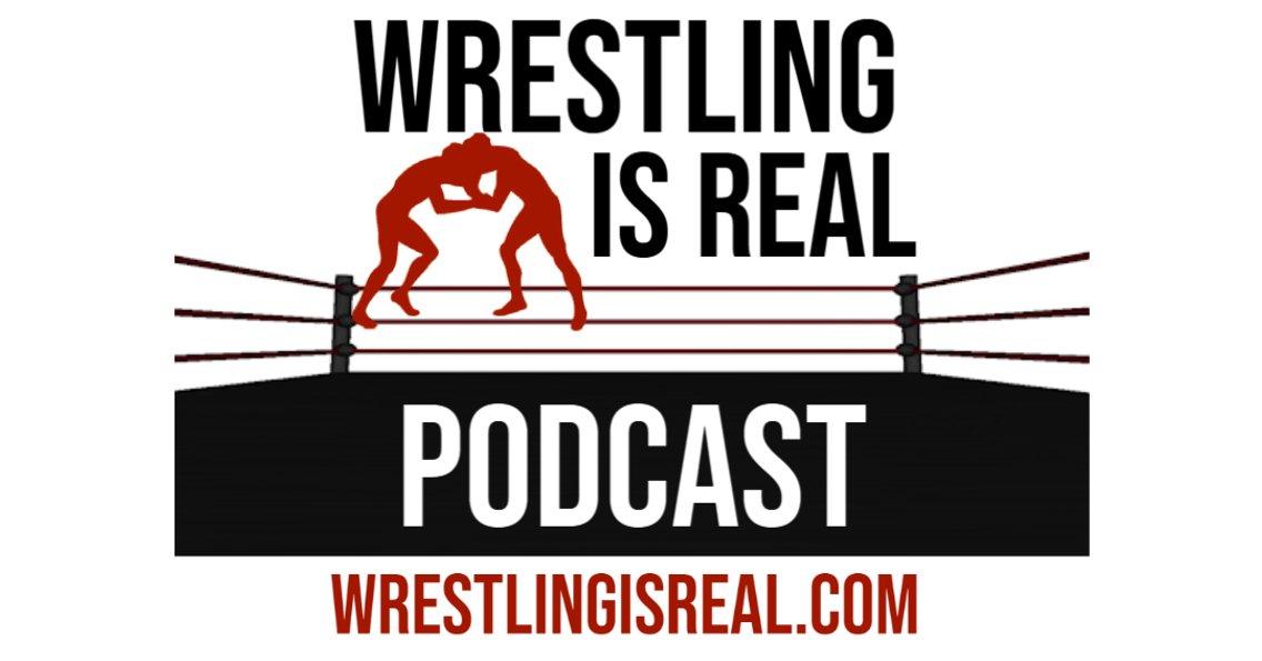 Wrestling Is Real Wrestling Podcast - immagine di copertina