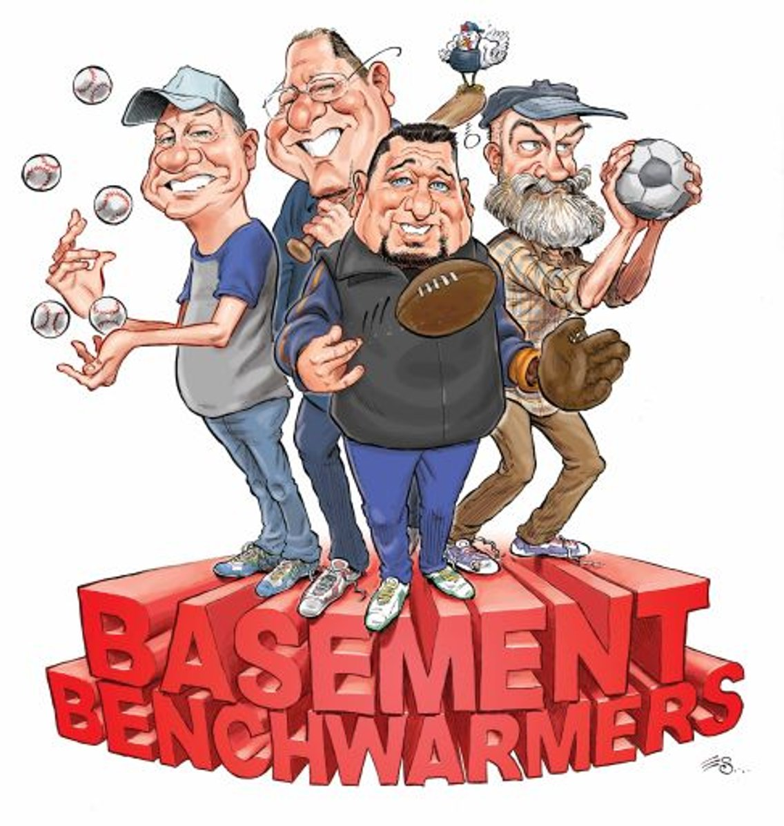 Basement Benchwarmers - Cover Image