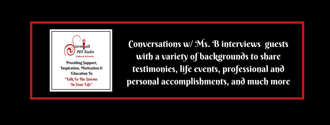 Conversations w/ Ms.B - Cover Image