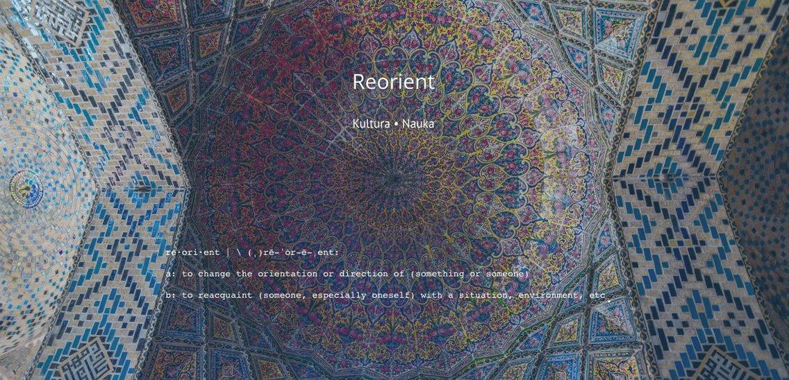 Reorient: kultura i nauka - Cover Image