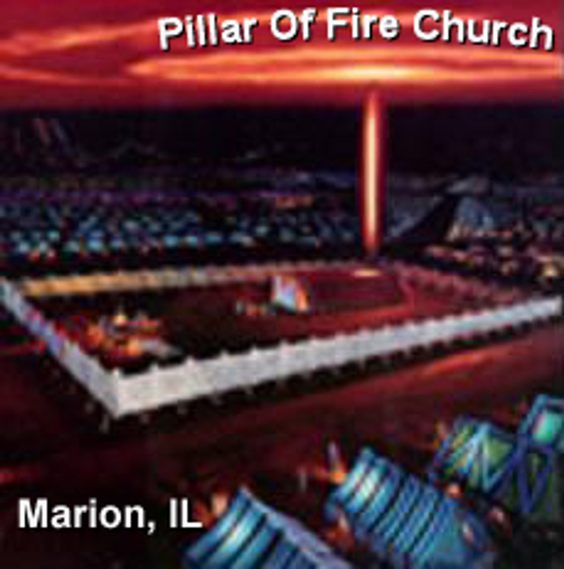 Pillar of Fire Church, Marion, Il - Cover Image