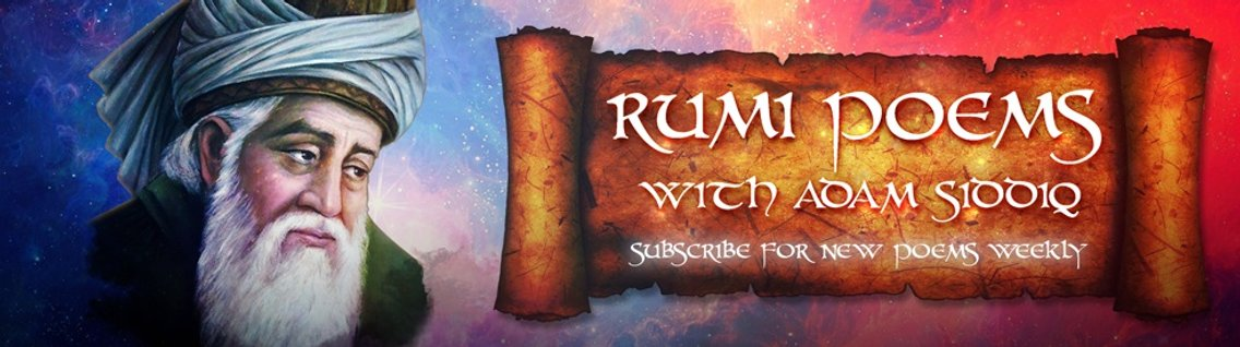 Rumi Poems with Adam Siddiq - Cover Image