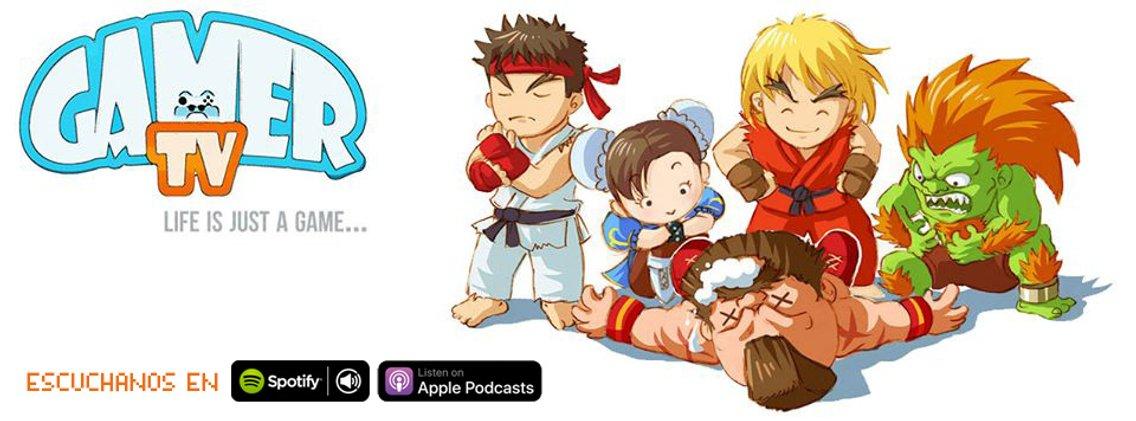 GamerTv podcast - imagen de portada