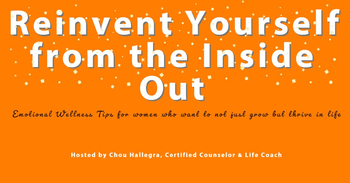 Reinvent Yourself From The Inside Out - Cover Image