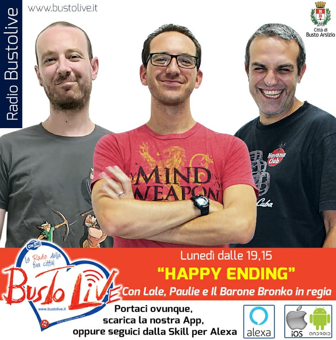 Happy Ending - Radio Busto Live - Cover Image
