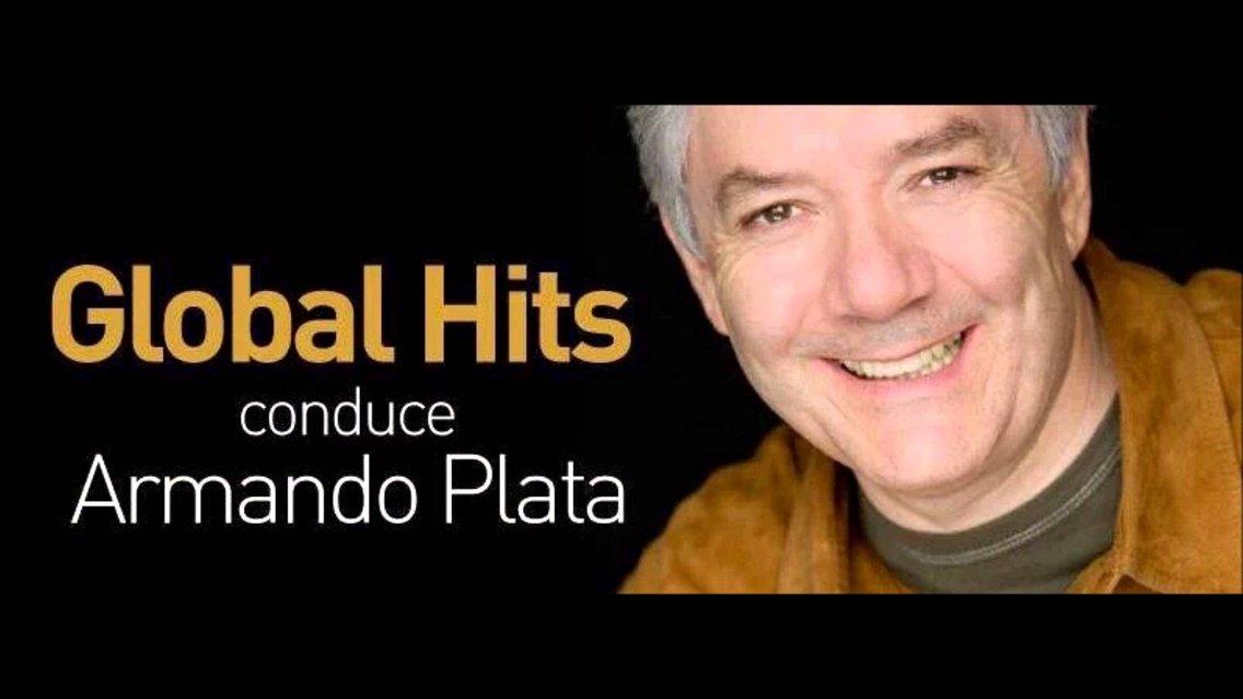 GLOBAL HITS CON ARMANDO_PLATA - Cover Image