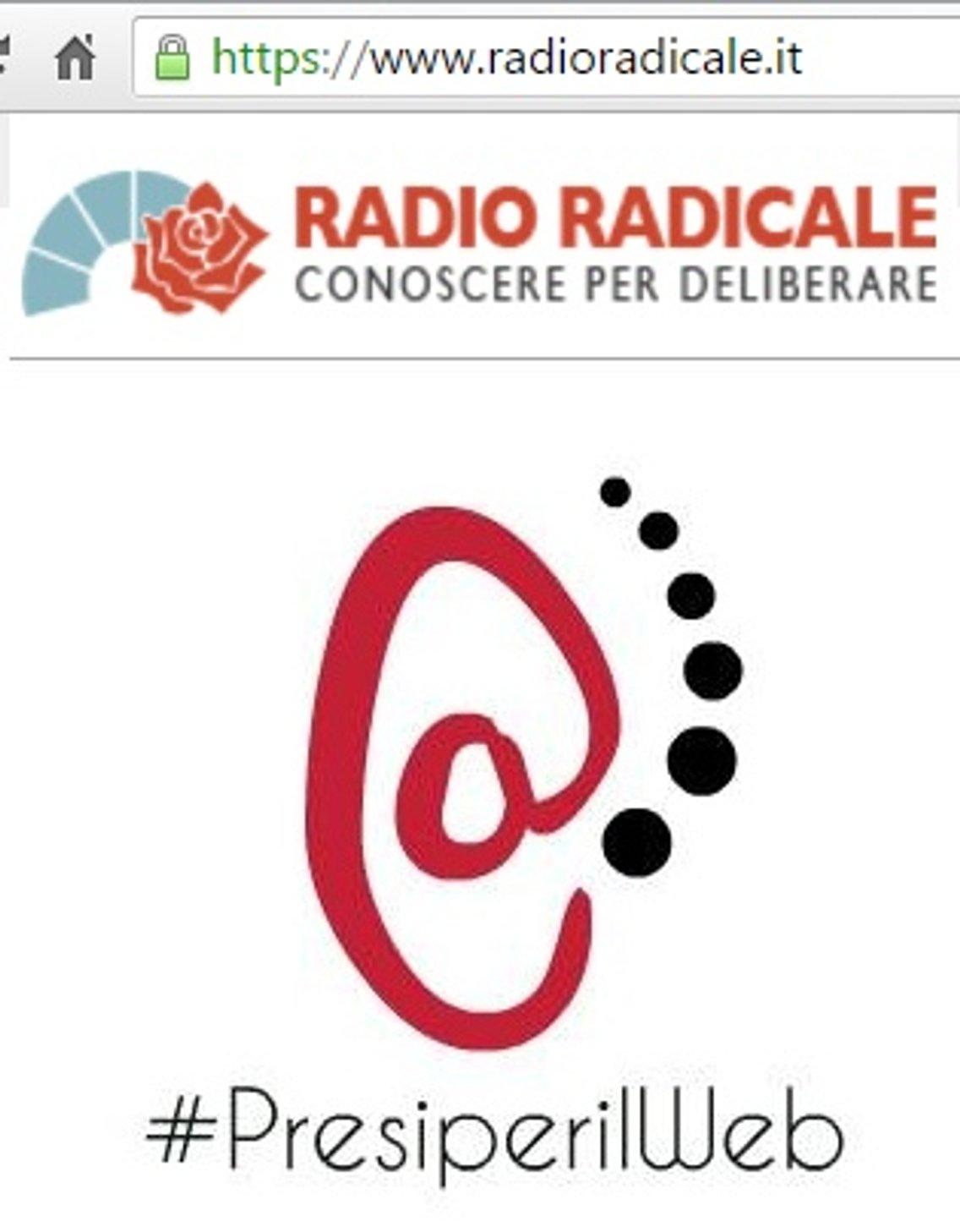 Presi Per il WEB - By Radio Radicale - immagine di copertina