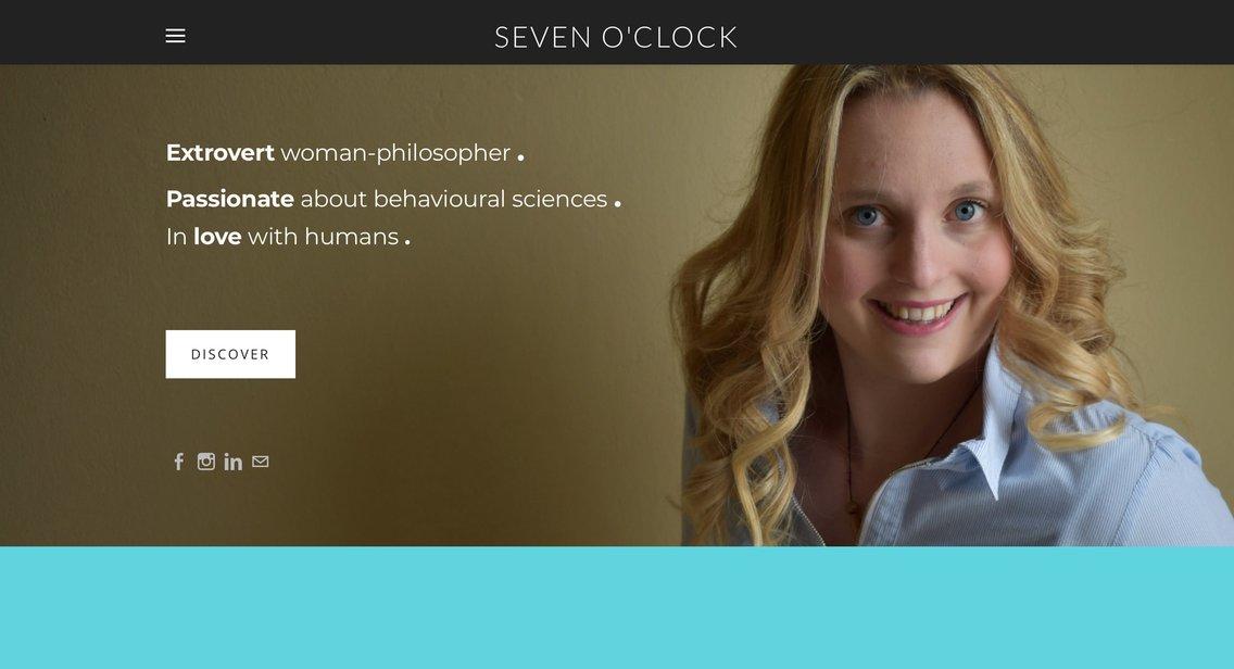 Seven O'Clock - immagine di copertina