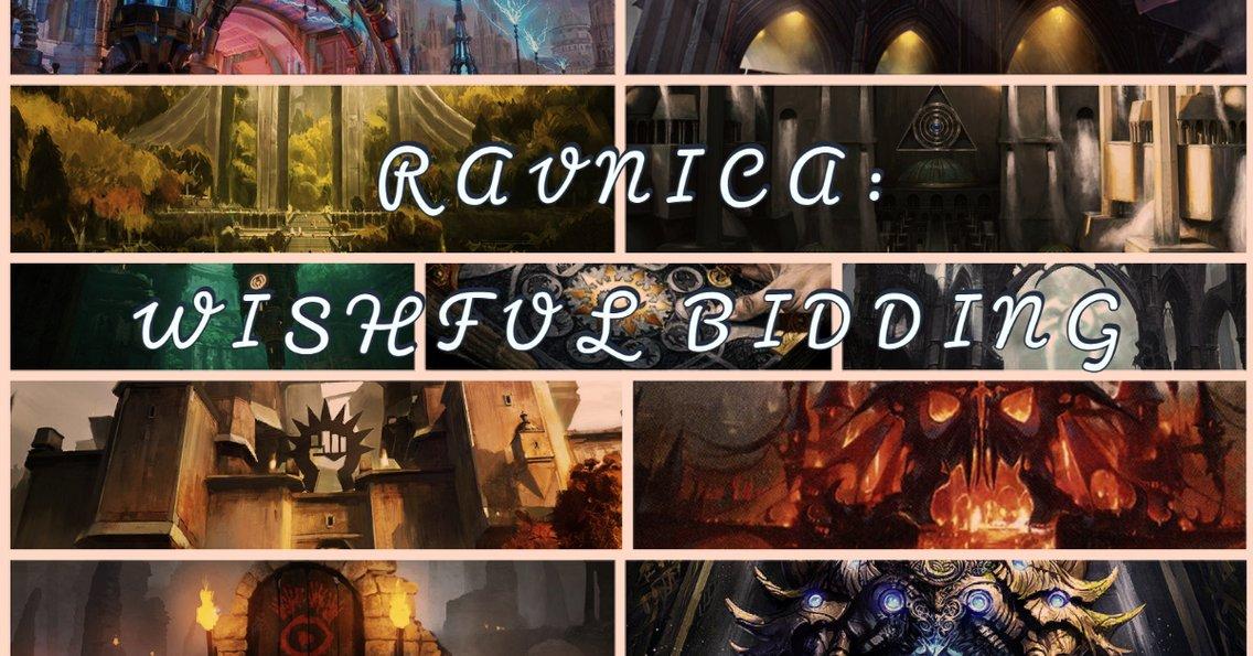 Ravnica: Wishful Bidding - immagine di copertina