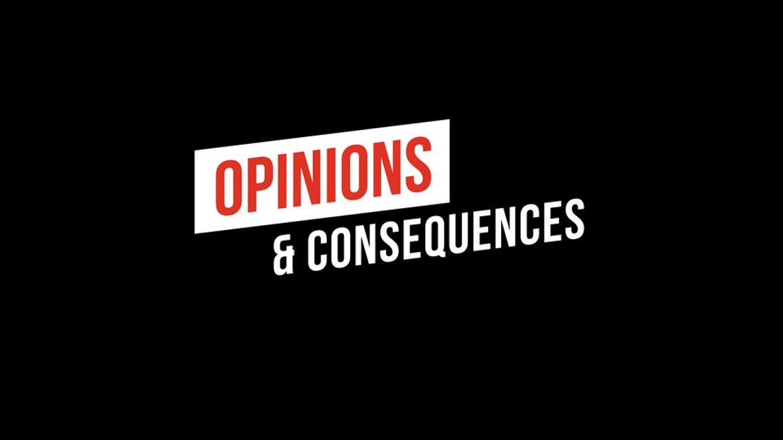Opinions & Consequences - imagen de portada