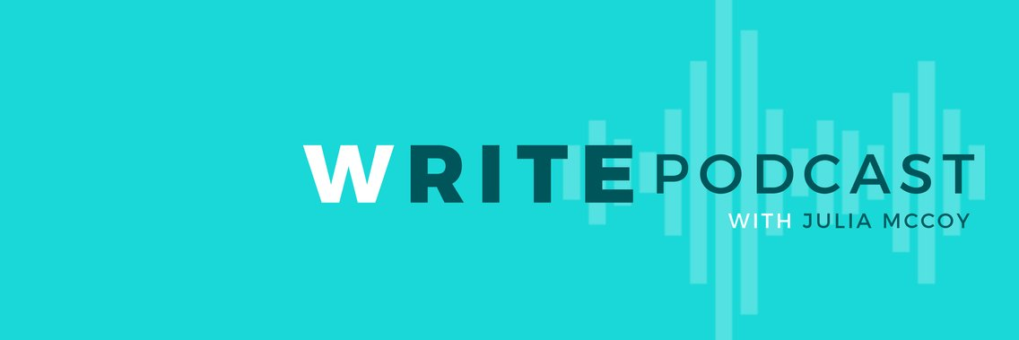 The Write Podcast | Host, Julia McCoy - Cover Image