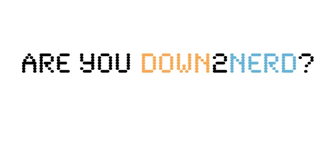 Down2Nerd - Cover Image