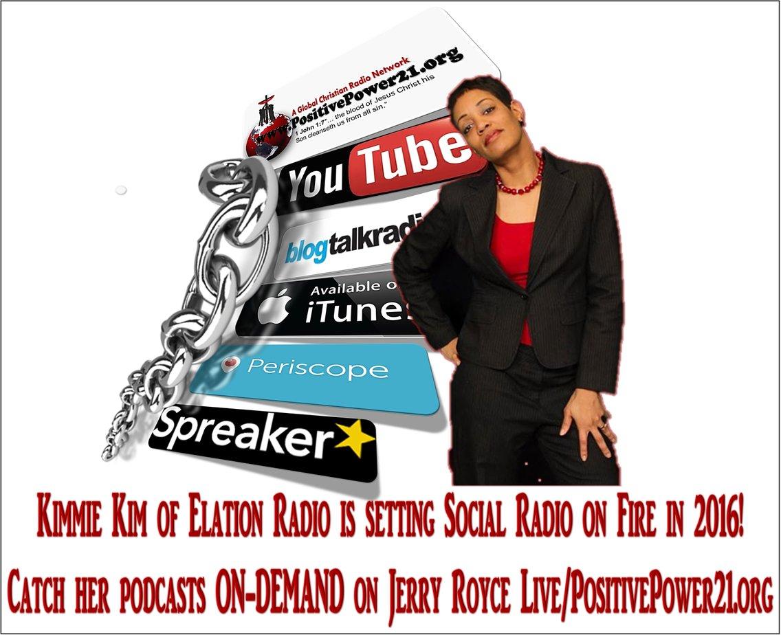 Elation Radio with Kimmie Kim - immagine di copertina