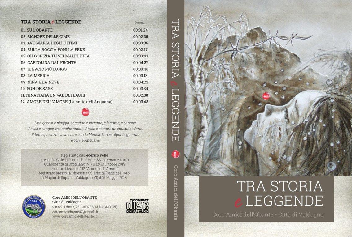Tra Storia e Leggende - Coro dell'Obante - immagine di copertina