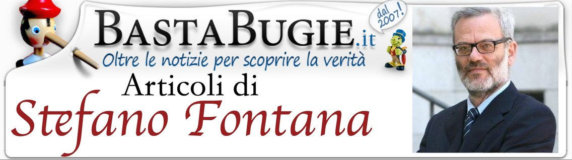 ARTICOLI di Stefano Fontana - imagen de portada