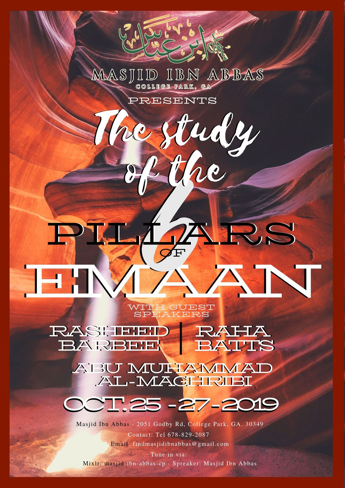 The Study of The 6 Pillars of Emaan - Cover Image