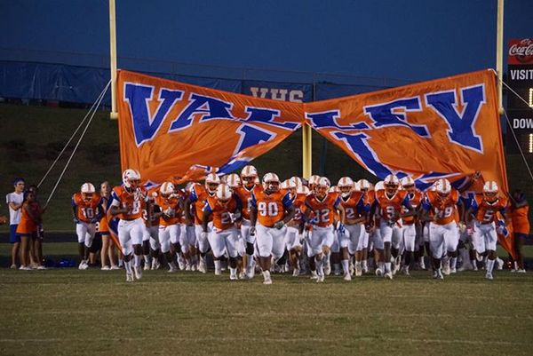 Valley Football - Valley VS. Beauregard - September 7, 2018