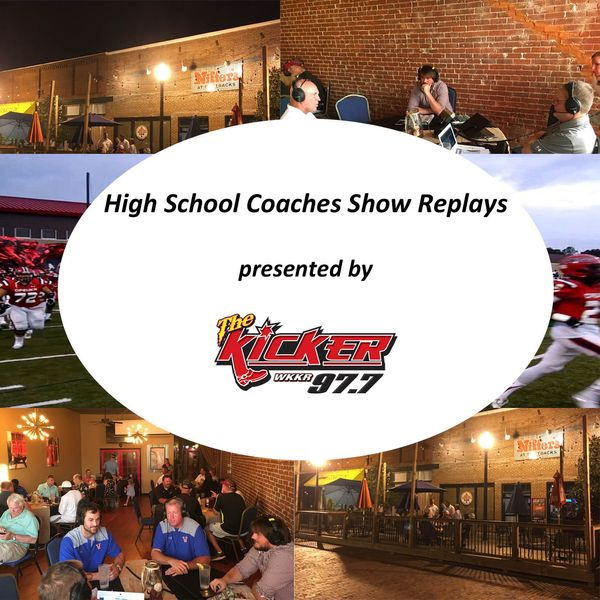 None - WKKR High School Coaches Show - October 9, 2019