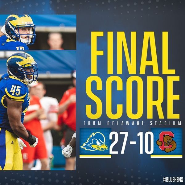 Blue Hens Radio - Game Highlights & Recap - UD vs. Cornell (09/15/18)