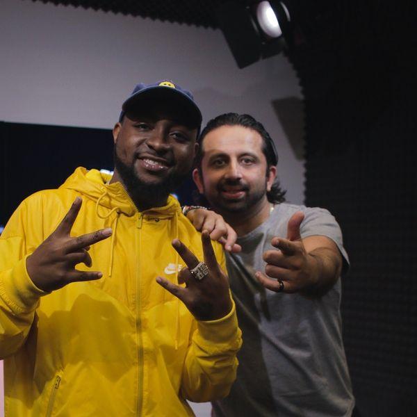 DJ Pup Dawg - International Megastar Davido Jumps on Air With Me!
