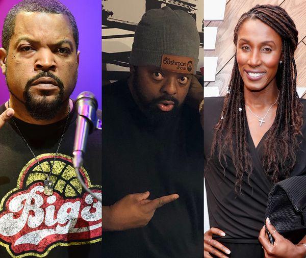 The Bushman Show - Ice Cube & Lisa Leslie Talk BIG 3
