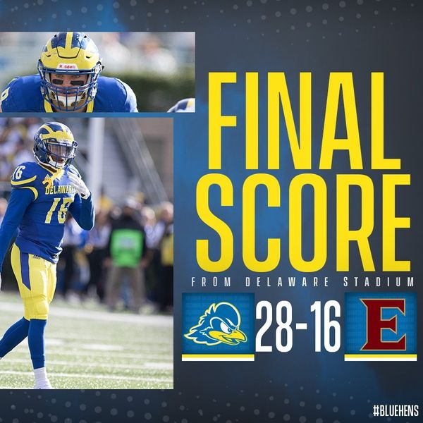 Blue Hens Radio - Game Highlights - Delaware 28 Elon 16 (10/13/18)